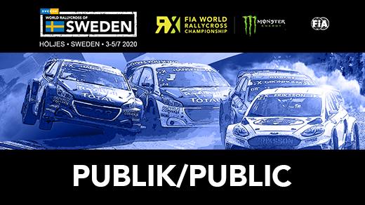 Bild för World RX of Sweden - Publika biljetter - 2020, 2020-08-20, Höljesbanan