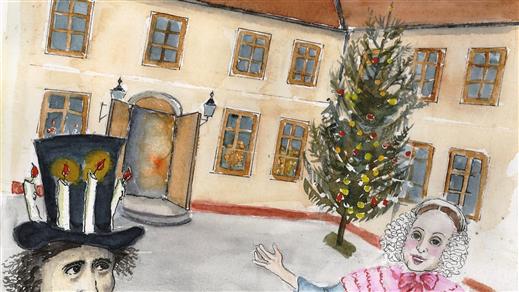 Bild för Midvintermys, 2018-12-16, Edsbergs slott Landsnoravägen 10