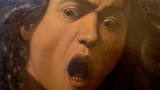 Bild för Konst på bio: Caravaggio - en drömutställning, 2018-10-10, Kulturhuset Finspång, Stora Salongen