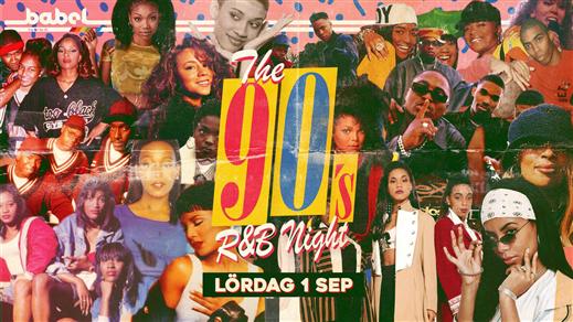 Bild för The 90's R&B Night - 1 september, 2018-09-01, Babel