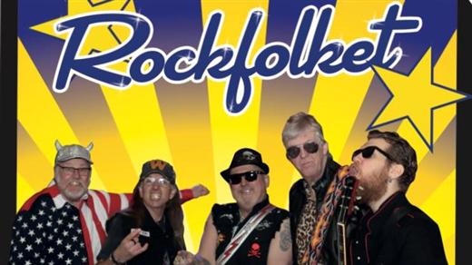 Bild för Vinter Rockparty med Rockfolket, 2017-03-11, Folkets Hus  Säter