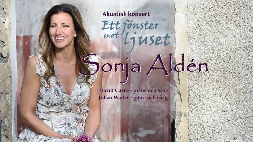 Bild för Sonja Aldén - Ett fönster mot ljuset, 2021-01-24, Jönköpings Teater