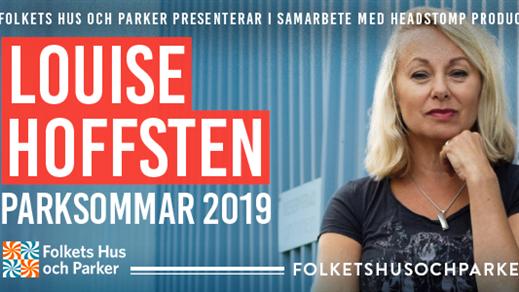 Bild för Louise Hoffsten - Parksommar 2019, 2019-07-19, Lilltorpet, Faluns Folkpark