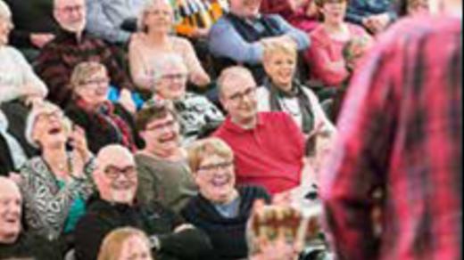 Bild för Livsberättelser 10/4 kl. 12:00, 2018-04-10, Caféscenen, Västerbottensteatern