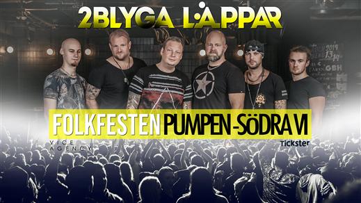 Bild för Folkfesten med 2Blyga Läppar (Påskdagen), 2020-04-12, Pumpen