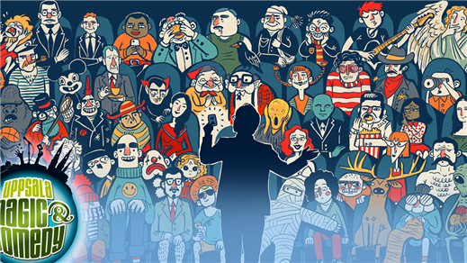 Bild för Uppsala Magic & Comedy: 52 Lovers, 2020-04-23, Humanistiska teatern