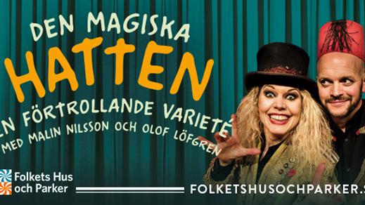 Bild för Den magiska hatten, 2019-10-17, Bräcke Folkets hus