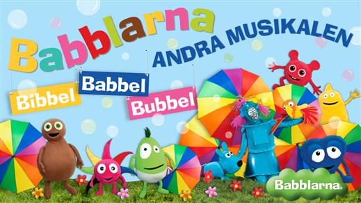 Bild för Babblarna Andra Musikalen - Bibbel Babbel Bubbel, 2019-02-23, Östrabo teater
