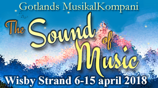 Bild för The Sound of Music 6:e april 19:00, 2018-04-06, Wisby Strand