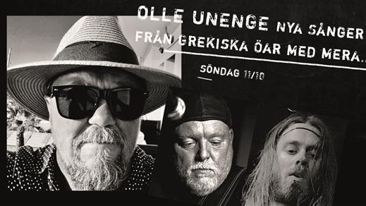 Bild för OLLE UNENGE Nya Sånger från Grekiska Öar med mera…, 2020-10-11, Stadsträdgården