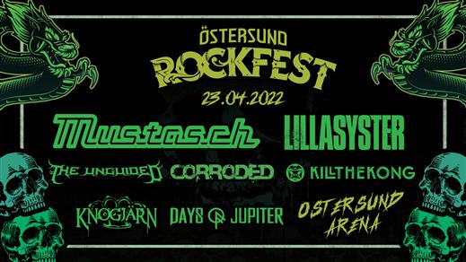 Bild för Östersund Rockfest, 2022-04-23, Östersund Arena