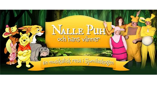 Bild för NALLE PUH OCH HANS VÄNNER, 2019-04-27, Alströmerteatern