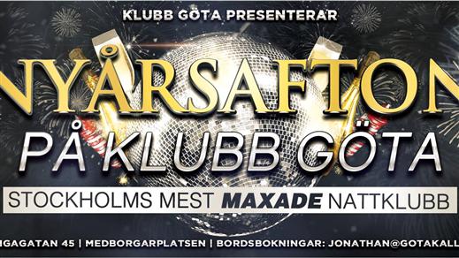 Bild för Nyårsafton 2016/2017 Klubb Göta, 2016-12-31, Göta Källare