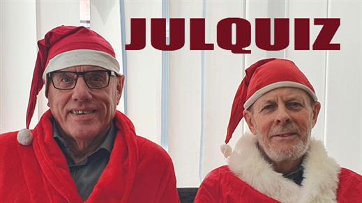 Bild för Soppteater: Julquiz med Sven-Åke och Tommy 11/12, 2021-12-11, Kulturbaren, Folkets Hus Kulturhuset