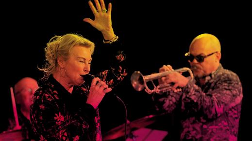 Bild för Umeå Jazzstudio: Elisabeth Melander Jazzapear, 2019-04-11, Studion, Umeå Folkets Hus