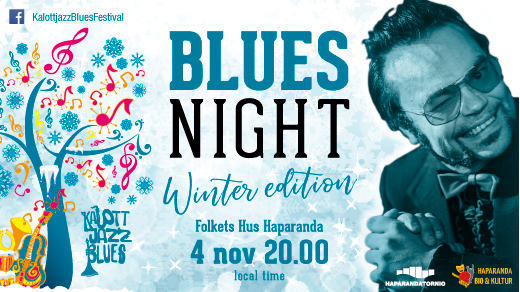 Bild för Blues night, Winter edition, 2017-11-04, Dansalongem folkets Hus