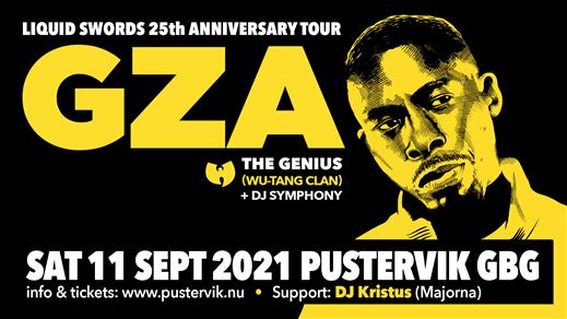 Bild för GZA/The Genius (Wu-Tang Clan), 2021-09-11, Pustervik