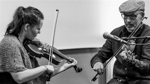 Bild för 190315 Duo Disparat, 2019-03-15, Stallet - Världens Musik