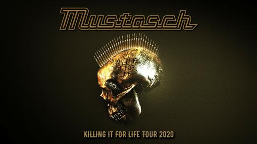 Bild för Mustasch + The Last Band, 2020-02-14, Nöjesfabriken