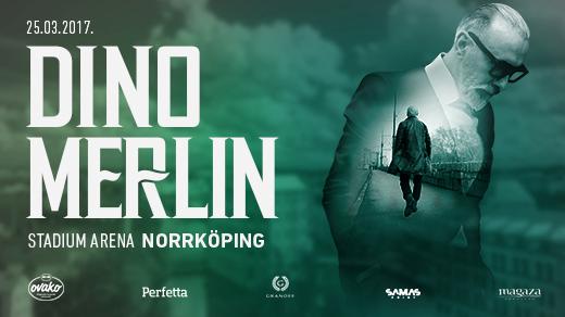 Bild för Dino Merlin - Norrköping, 2017-03-25, Stadium Arena
