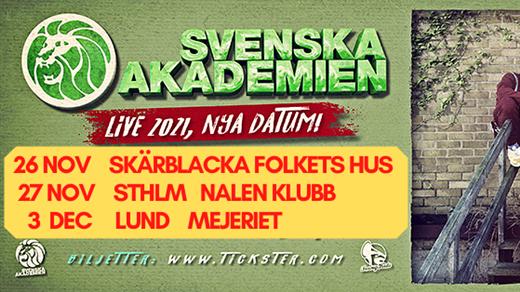 Bild för Svenska Akademien, 2021-11-26, Skärblacka Folkets Hus