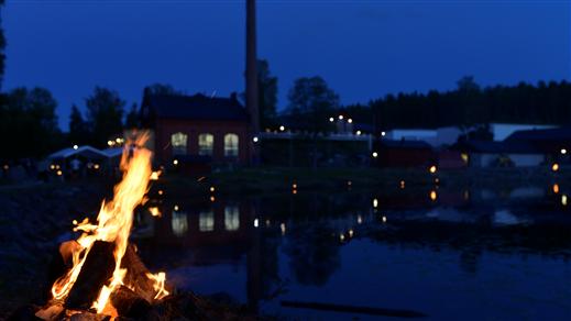 Bild för Lägereld High Coast Distillery, 2021-09-25, High Coast Distillery