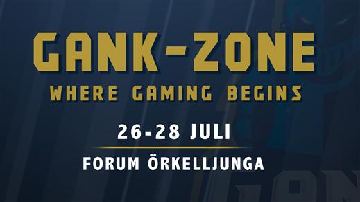 Bild för GANK-Zone LAN Forum Örkelljunga - Helgpass, 2019-07-26, FORUM Örkelljunga