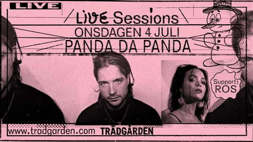 Bild för Live Sessions: Panda Da Panda + ROS, 2018-07-04, Trädgården