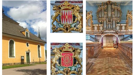 Bild för Guidning av Cahmanorgeln och kyrkan, 2021-08-18, Lövstabruks Kyrka