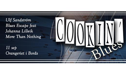 """Bild för """"Äntligen Live"""" på Cookin' i Borås, 2021-09-11, Orangeriet"""