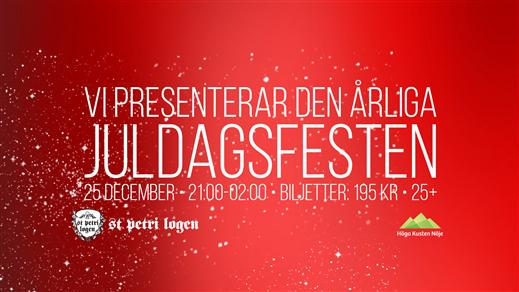 Bild för Juldagsfesten 2018 (Logen), 2018-12-25, Logen
