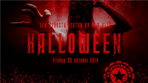 Bild för Halloweenfesten 2019, 2019-10-25, Nöjesfabriken