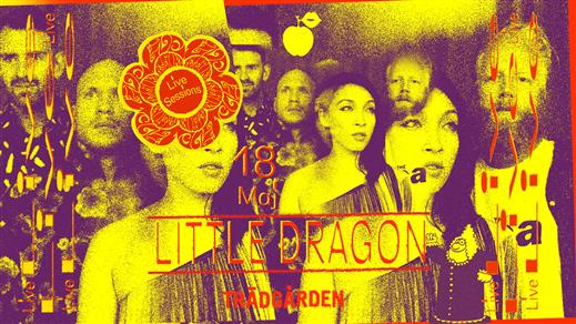 Bild för LIVE Sessions: Little Dragon, 2019-05-18, Trädgården