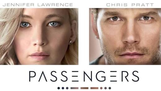 Bild för Passengers (Sal2 11år Kl.20:30 1t56m), 2016-12-21, Saga Salong 2