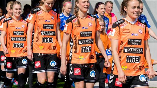 Bild för Kristianstads DFF Säsong 2019, 2019-04-14, Kristianstad Nya Fotbollsarena