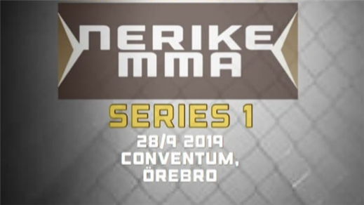 Bild för Nerike MMA Series 1, 2019-09-28, Conventum Kongress