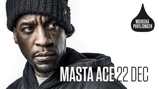 Bild för Masta Ace (US) Live / Moriska Paviljongen, 2016-12-22, Moriska Paviljongen