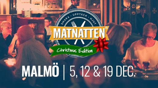 Bild för Matnatten Malmö   Christmas Edition, 2020-12-05, Malmö city