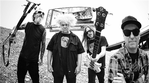 Bild för Melvins + ShitKid, 2018-10-14, Musikens Hus Stora Scen