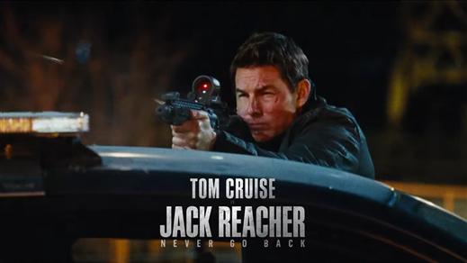 Bild för Jack Reacher 2 (Sal.1 Fr.15 Kl.20:00 1h 58min), 2016-10-27, Saga Salong 1