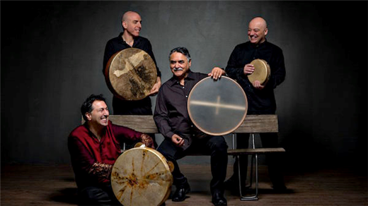 Bild för 180418 Masters of Frame Drums, 2018-04-18, Stallet - Världens Musik