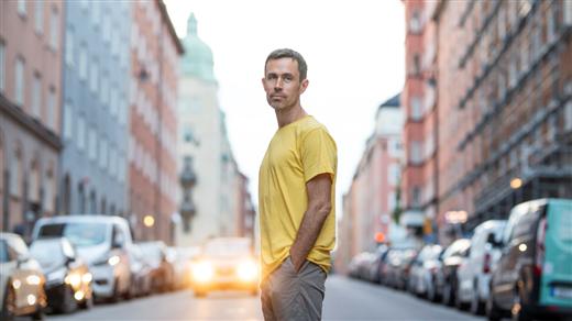 Bild för Jonas Holmberg tänker på Svante Thuresson, 2021-10-16, Oktoberteatern