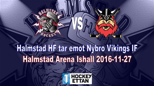Bild för Halmstad HF vs. Nybro Vikings IF, 2016-11-27, Halmstad Arena