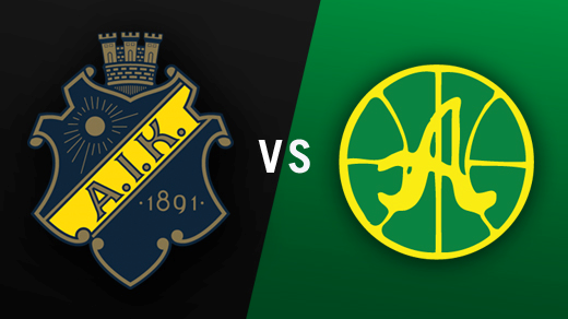 Bild för AIK - Alvik Basket, 2016-11-18, Solnahallen