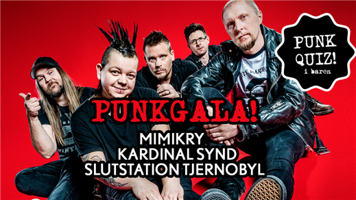 Bild för Punkgala med Mimikry / Kardinal Synd mfl, 2020-04-25, Ersboda Folkets Hus