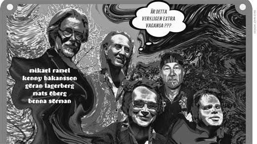 Bild för Mikael Ramel Band Till Dig, 2019-03-30, Hallsbergs Jazz- och Bluesklubb