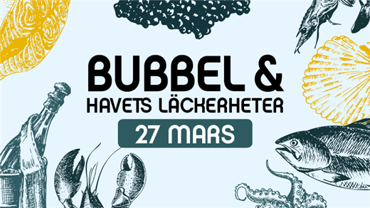 Bild för Tisdag med bubbel & havets läckerheter 2018-03-27, 2018-03-27, Solvalla