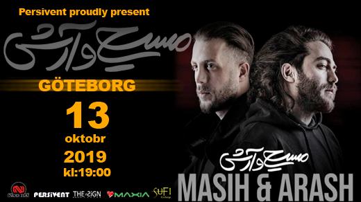 Bild för Arash & Masih Live concert in Gothenburg, 2019-10-13, Draken (M)