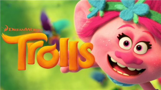 Bild för Trolls (Sal.2 7år Kl.14:15 1h32m), 2016-11-01, Saga Salong 2