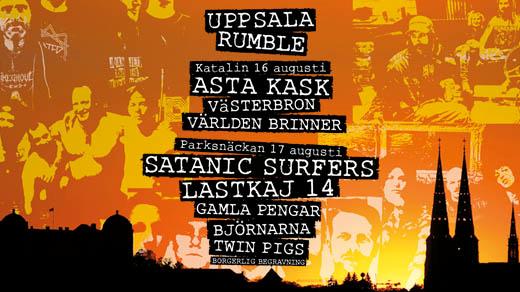Bild för Uppsala Rumble | Katalin & Parksnäckan, 2019-08-16, Parksnäckan, Stadsträdgården